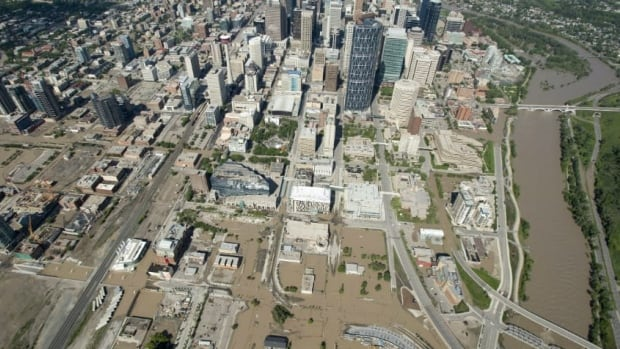 Calgary was one of 30 'local state of emergency' communities in the flooding of June 2013.