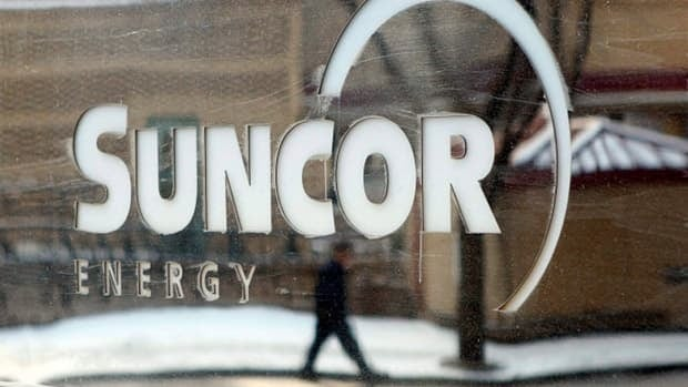 Suncor says 350,000 litres of wastewater leaked into the Athabasca River in northern Alberta for 10 hours. The company says the water contained no bitumen.