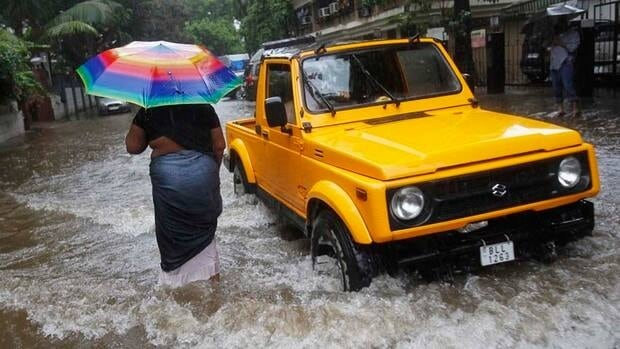 Mumbai is among the cities dealing with ample annual monsoon rains, which have covered roughly half of India.