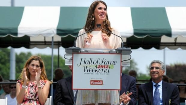 Jennifer Capriati was inducted into the International Tennis Hall Of Fame on July 14, 2012.