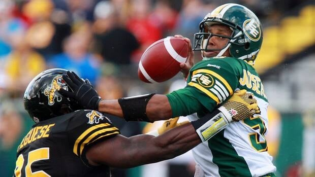 Edmonton Eskimos' quarterback Kerry Joseph will get the ball as his team looks to snap a five-game losing streak when they face Hamilton on Friday.