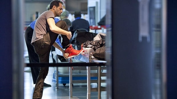 Airport security officials comb through millions of bags a year and confiscate thousands of contraband items, but have no powers of arrest.