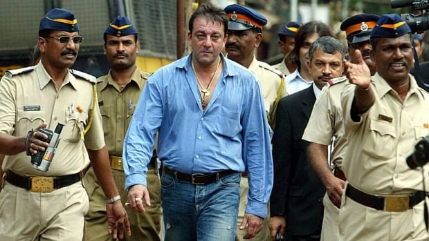 In this September 2006 file photo, Bollywood actor Sanjay Dutt leaves a special court trying the cases of those accused in the 1993 Mumbai bombings in Mumbai, India.