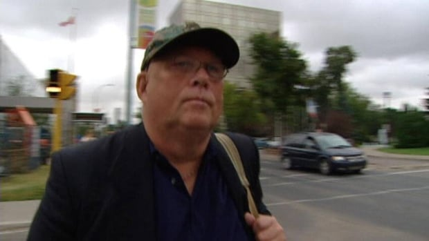 Terry Tremaine declined to be interviewed after a judge granted a stay on his hate-crime charge.