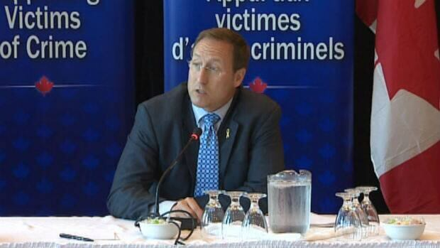 Justice Minister Peter MacKay attended a meeting in St. John's last week on better addressing the needs of victims of crime.