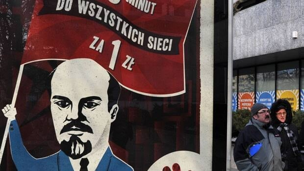 Following a public outcry a Polish phone company pulled a number of ads featuring former communist leader Vladimir Lenin in the style of Soviet propaganda posters.