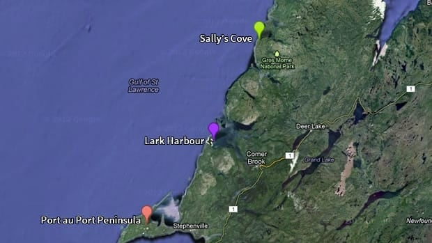 Shoal Point Energy is interested in doing exploratory fracking in three locations on Newfoundland's west coast.