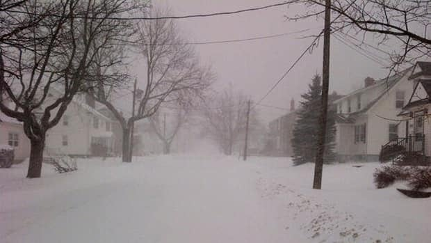 Environment Canada has issued a blizzard warning in effect for southern New Brunswick.