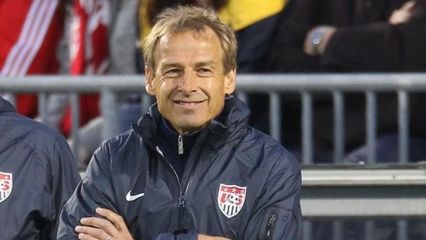 Jurgen Klinsmann, seen in Toronto in June during an exhibition match, wasn't smiling after the Americans lost to Jamaica last week.
