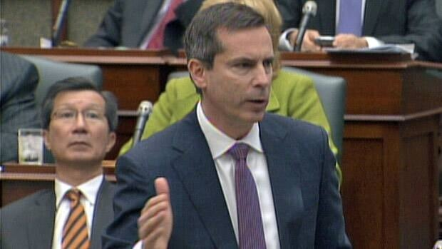 Ontario Premier Dalton McGuinty says he wants to hear the NDP's full list of suggestions for his government's budget, rather than respond to one idea at a time.