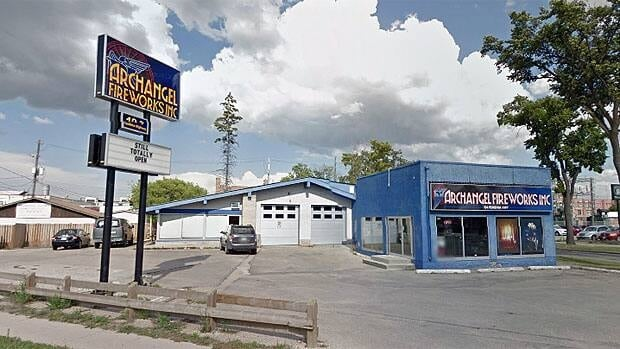 Archangel Fireworks expects supplies at its retail store to be reduced as a result of the explosion near Montreal.