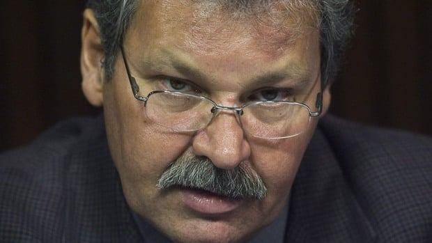 OPSEU President Warren Smokey Thomas, seen in this file photo, says the McGuinty government has rejected the union's offer.