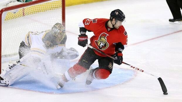 Kaspars Daugavins likely put himself on the all-time shootout attempt list after his try March 11 for Ottawa against Boston.