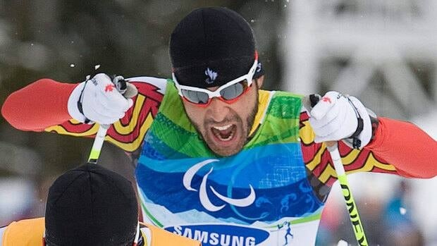 Canadian Brian McKeever, seen here racing to a gold medal in Whistler, B.C., at the 2010 Paralympics, is hoping to be part of the Canadian team for the 2014 Games in Russia.