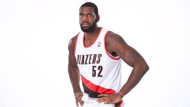 Greg Oden of the Portland Trail Blazers poses for photos during the team's annual Media Day in Dec. 2011. Oden has not played a game for the Trail Blazers in two years.