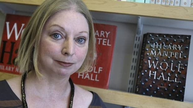 British author Hilary Mantel, seen in London with her Booker-winning 2009 bestseller Wolf Hall, is back with the sequel Bring Up the Bodies.