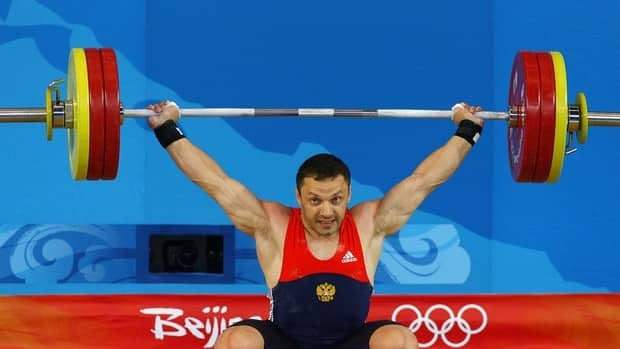 Oleg Perepechenov of Russia, shown here competing at the 2008 Beijing Olympics, was stripped of his bronze medal Tuesday from the 2004 Athens Games.