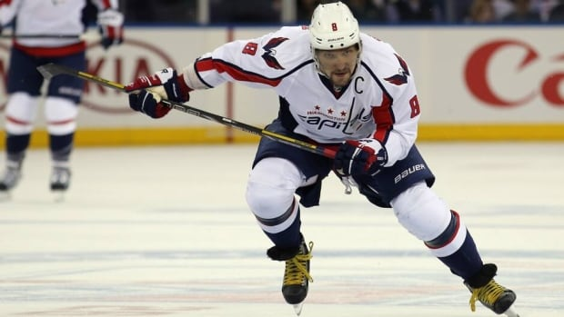 Alex Ovechkin finished his Hart Trophy-winning season with 23 goals in 23 games after adjusting to the right wing position.