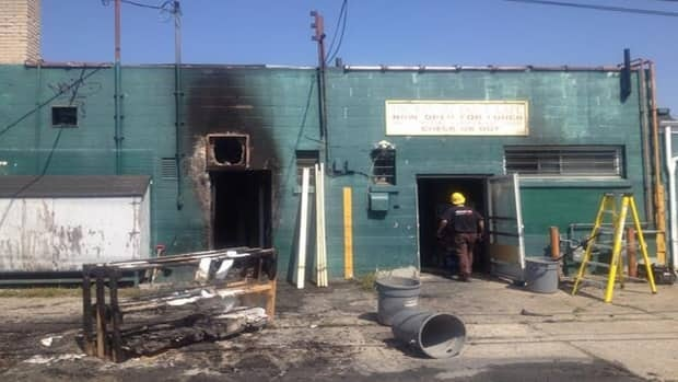 Investigators were not able to determine what caused the fire at the Pastry Table Cafe on Tecumseh Road East.