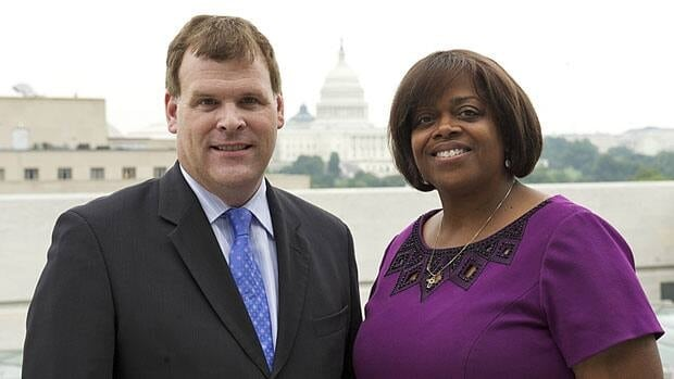 Foreign Affairs Minister John Baird, left, meets with Dr. Suzan Johnson Cook, U.S. Ambassador-at-Large for International Religious Freedom, in Washington last year to discuss Canada's plan to introduce an Office of Religious Freedom. The long-delayed office will launch soon, department officials say.