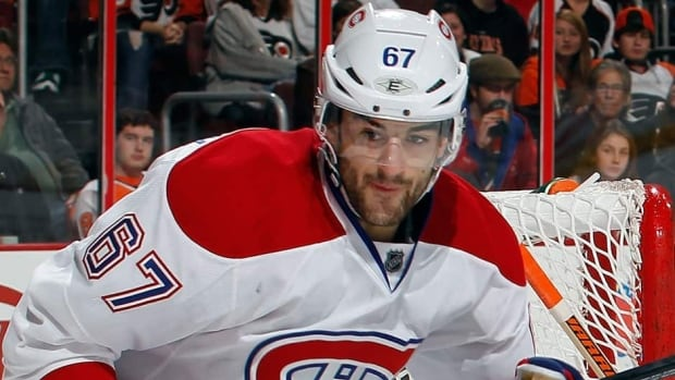 Max Pacioretty of Montreal bounced back from an unsightly injury to post career high numbers in 2011-12.