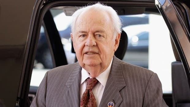 New Orleans Saints owner Tom Benson arrives for a meeting of NFL owners at a hotel on March 2, 2011 in Chantilly, Virginia.