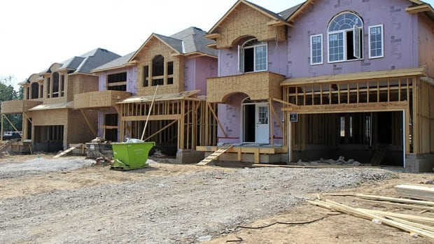 The average house price in Canada has increased by almost seven per cent over the past 12 months. (CBC)