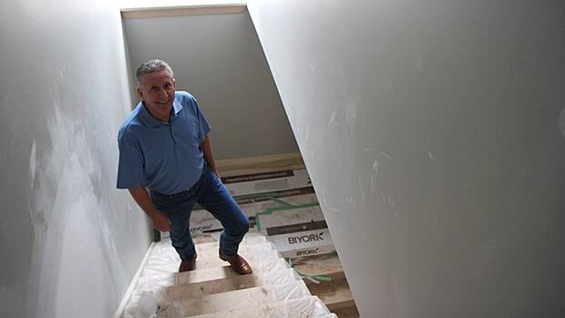 Developer Greg Hart of Skyway Construction is selling a newly renovated home on Dundurn Street South for more than half a million after the property sat vacant for seven years. He attributes this to Hamilton's boom in housing prices.