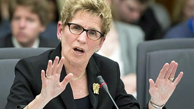 Liberal Premier Kathleen Wynne doesn't want an election yet and is pitching for NDP support. She says she was kept in the dark about the gas-plant costs too.
