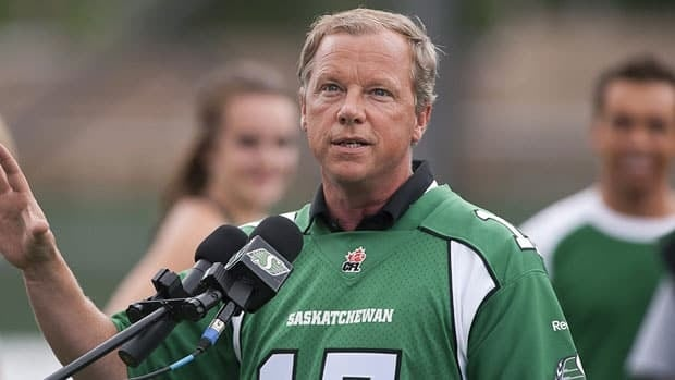 Saskatchewan Premier Brad Wall announces a new stadium, costing $278 million, will be built in Regina in time for the 2017 football season.