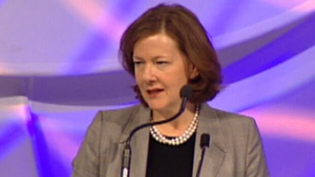 Alberta Premier Alison Redford has revealed that she has been losing hearing in her right ear over the past 18 months.