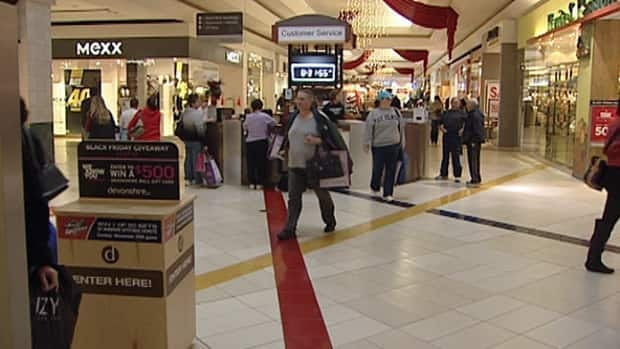 Hundreds of people are lining up at stores across Windsor early Friday morning as retailers in the area try to keep Black Friday shoppers from spending their money in the U.S.