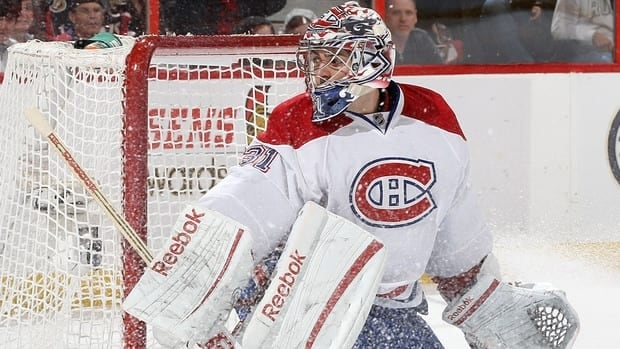 Carey Price (31) of the Montreal Canadiens.
