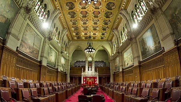 The Senate chamber is seen Tuesday March 26, 2013 on Parliament Hill in Ottawa.