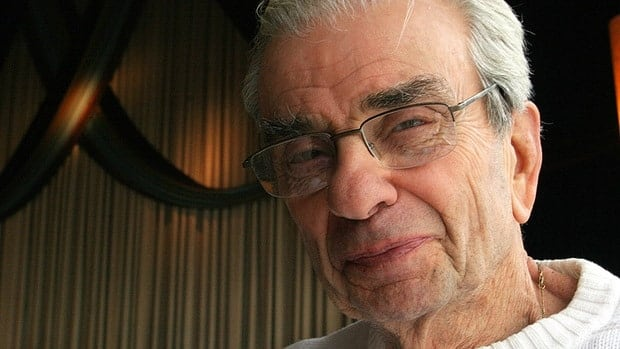 Stage composer and lyricist Richard Adler, seen in 2006, has died at the age of 90. Some of Adler's biggest songs include You Gotta Have Heart, Hernando's Hideaway, Whatever Lola Wants and Everybody Loves a Lover.