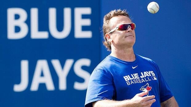 Blue Jays manager John Gibbons was having a ball Monday at spring training in Dunedin, Fla., tossing around a baseball in between renewing acquaintances or shaking hands with new friends and kibitzing with one of his coaches.