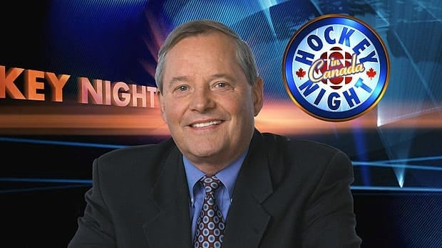 Harry Neale joined the CBC's Hockey Night in Canada in 1985 after about two decades spent as a hockey coach.