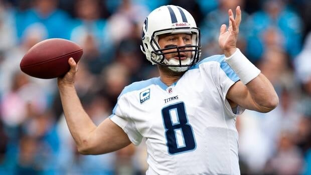 Quarterback Matt Hasselbeck has 34,517 yards passing for his career with 201 touchdowns.