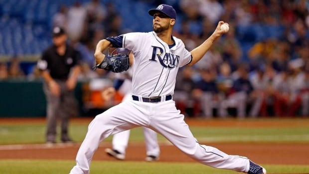 David Price of the Tampa Bay Rays had never been on the disabled list prior to Thursday.