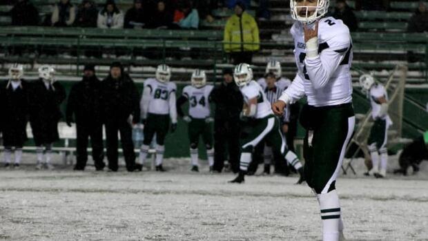 The Saskatchewan Roughriders have added University of Saskatchewan quarterback Drew Burko to their training camp roster.