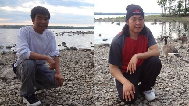Solomon Oyukuluk and Ian Shooyook drowned Saturday in the Ottawa River.