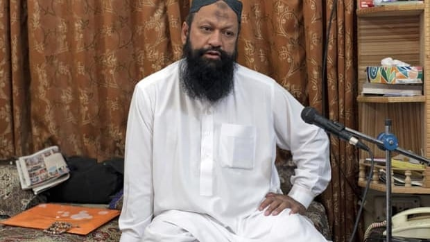 Leader of the Lashkar-e-Jhangvi (LeJ) Malik Ishaq, shown in 2012, was arrested Friday at his home in Rahim Yar Khan in southern Punjab province. With a few hundred hard-core cadres, the highly secretive Sunni Muslim extremist group Lashkar-e-Jhangvi, or LeJ, aims to trigger tit-for tat sectarian violence that would pave the way for a Sunni theocracy in U.S.-allied Pakistan, say Pakistan police and intelligence officials.
