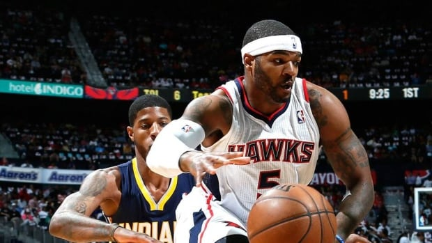 Josh Smith has spent his entire nine-year NBA career with his hometown Atlanta Hawks.