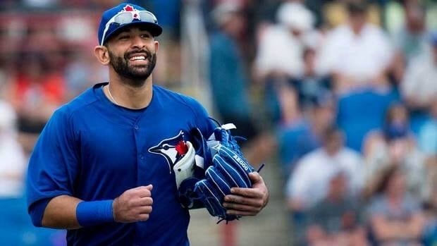 Toronto Blue Jays outfielder Jose Bautista says he'll welcome former manager John Farrell when the Red Sox plaly Toronto Monday.