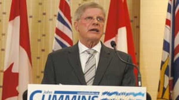 B.C. Conservative Party Leader John Cummins has ignored calls for him to step down.