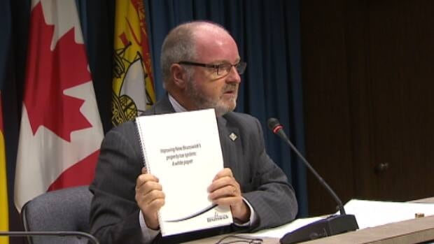 Local Government Minister Bruce Fitch announced a series of property tax reform proposals on Wednesday.
