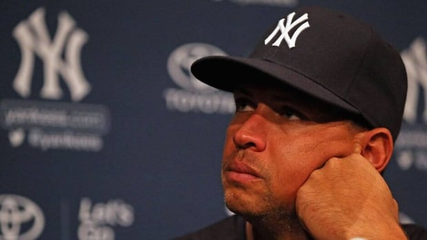 New York Yankees slugger Alex Rodriguez was suspended through the 2014 season on Monday by MLB.