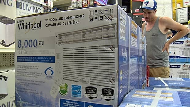 The hot and humid weather afflicting Toronto this week has motivated Mike Denby to finally consider buying an air conditioner.