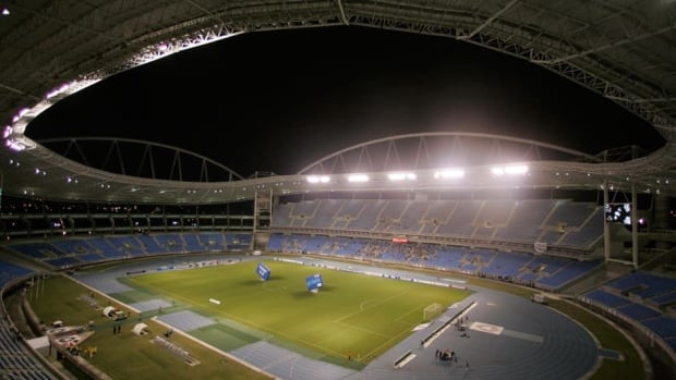 The Joao Havelange stadium in Rio de Janeiro is not safe to host public events until the problems with its roof are fixed, according to authorities.