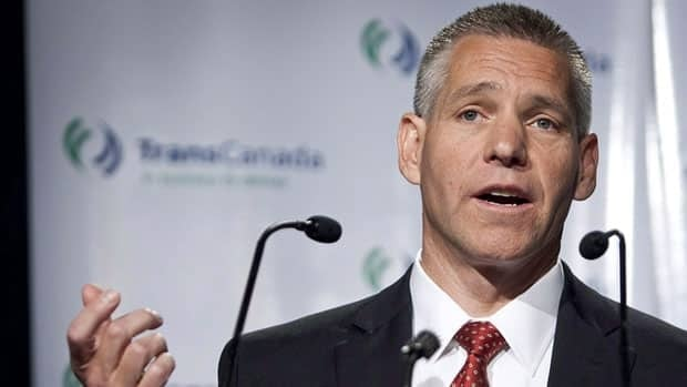 TransCanada CEO Russ Girling, shown in April, said Tuesday it has made substantial progress on its capital spending program.